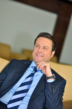 Thuraya's CEO, Mr. Samer Halawi.
