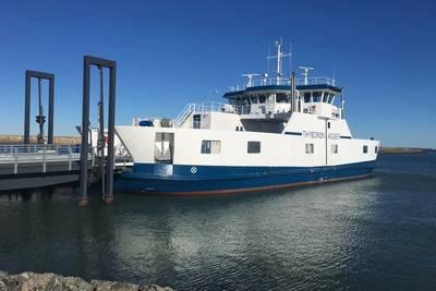 Thyborøn-Agger ferry in Northern Denmark. Image: Danfoss Editron