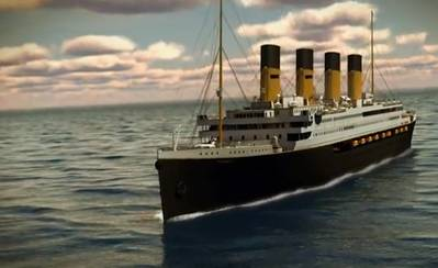 Titanic 2 rendering courtesy of Blue Star