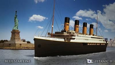 Titanic II ocean liner. Credit Blue Star Line