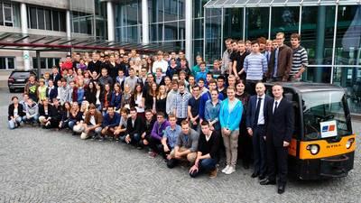 Tognum Apprentices, Teachers & Staff: Photo credit Tognum
