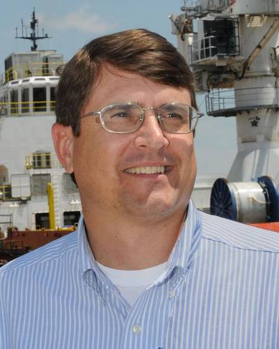 Tom Godfrey, Domestic Sales and Marketing, Signal Ship Repair (SSR) facility in Mobile, AL.