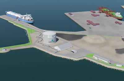 Tornio Manga LNG terminal (Image: Wärtsilä)