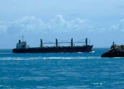 Torres Straits passage: Photo courtesy of AMSA