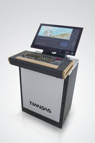 Transas Marine's ECDIS Console (Image courtesy of Transas Marine)