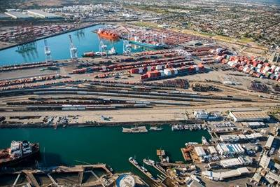 TraPac Container Terminal LA: Photo credit Port of LA