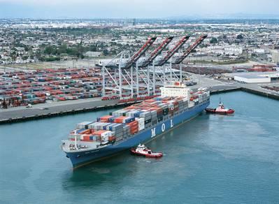 TraPac Container Terminal LA: Photo credit Port of LA