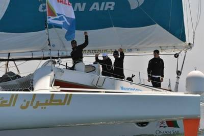 Trimaran 'Oman Air-Musandam' : Photo credit Route des Princes