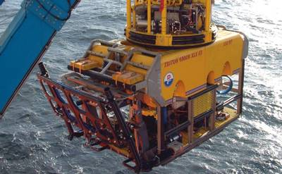 Triton ROV: Photo courtesy of the manufacturer