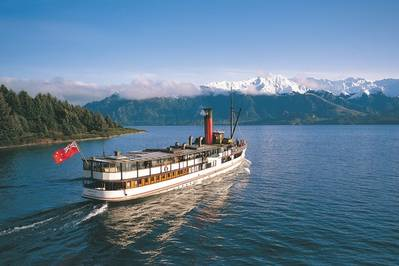 TSS Earnslaw: Photo courtesy of Real Journeys