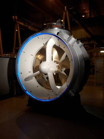 TT-PM Tunnel Thruster: Image credit Rolls Royce