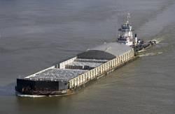 tug and barge, John Spence and Niagara Spirit.