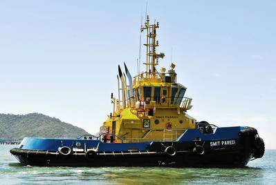 Tug 'SMIT Pareci': Photo Robert Allan