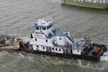 Tugboat 'Endeavor': Photo courtesy of Nature's Way Marine