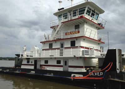 Tugboat 'Silver': Photo credit Harley Marine Services