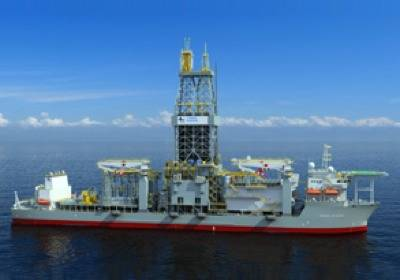 Atwood Deepwater Drillship: Photo courtesy of Atwood Oceanics