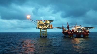 A typical North Sea Oil Installation (CREDIT: Craig International)