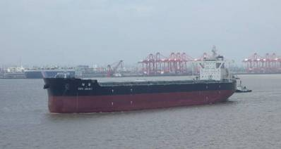 U Ming's 2017-built 187,888dwt bulk carrier Cape Galaxy is one of twenty vessels to have benefited from the efficiency gains achieved with Nippon Paint Marine's A-LF-Sea low-friction antifouling