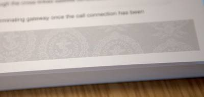 Publications published since October 2014 include a grey graphic showing the UKHO crest across random pages. If photocopied, the words 'ILLEGAL COPY' will be visible. (Photo: UKHO)