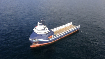 Gulfmark Offshore's the 'Highland Chieftain' was the vessel used for the test. (Photo: Wärtsilä)