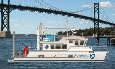 University of New Hampshire New Research Vessel
