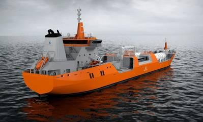 Upgraded SK5054 tanker design: Image Wärtsilä