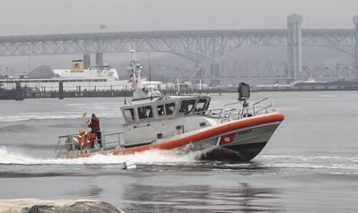 (U.S. Coast Guard Photo courtesy of Research and Development Center)