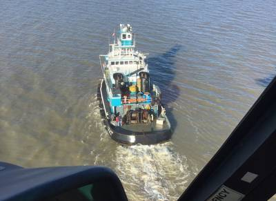 (U.S. Coast Guard photo courtesy of Air Station New Orleans)