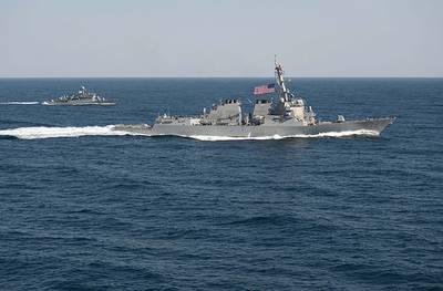 U.S. Navy file photo of USS Lassen (DDG 82), Mar. 2015.