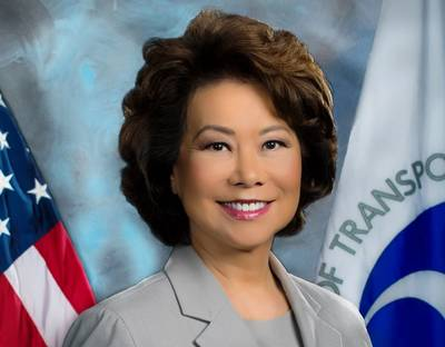 U.S. Transportation Secretary Elaine Chao (Photo: U.S. Department of Transportation)