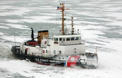USCG Cutter Neah Bay: Photo credit Great Layes Shipyard