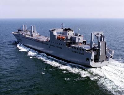 USNS Benavidez (T-AKR-306) underway (Photo: U.S. Navy)