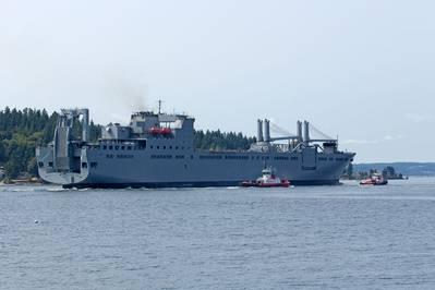 USNS Brittin (Photo: Port of Vancouver USA)