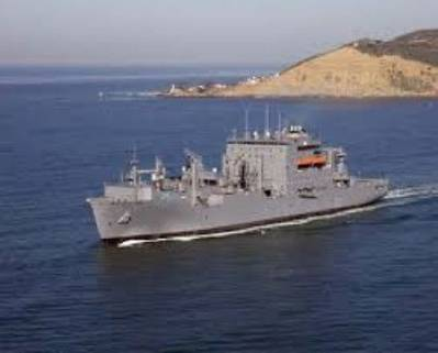 USNS Carl Brashear: Photo credit Navy MSC