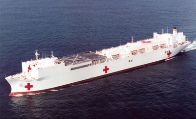 USNS Comfort  (Photo courtesy of MSC)