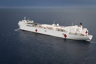 USNS Comfort (T-AH 20) (File photo: Ernest R. Scott / U.S. Navy)