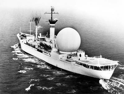 USNS Kingsport (NASA photo)