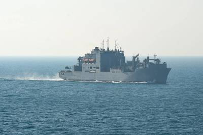 USNS Medgar Evers (U.S. Navy photo by J. M. Tolbert)