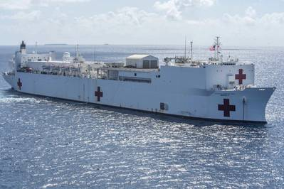 USNS Mercy (Photo: U.S. Navy photo by Kelsey L. Adams)