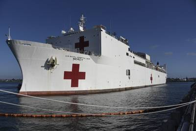 USNS Mercy (U.S. Navy photo by Tim Heaps)