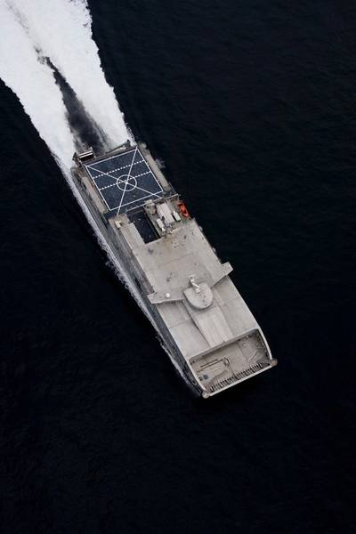 USNS Millinocket: Photo courtesy of Austal