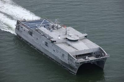 USNS Newport (EPF 12) (Photo: Austal)