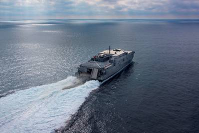 USNS Spearhead: Photo credit Austal