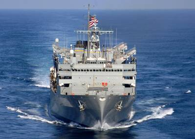 USNS Supply: Photo credit MSC