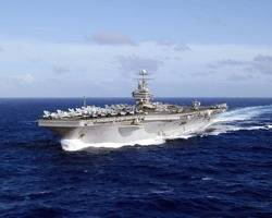 USS Abraham Lincoln: Credit USN