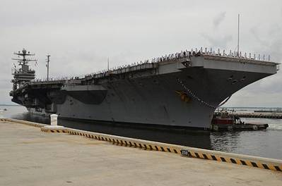 USS Abraham Lincoln: Photo credit US Navy