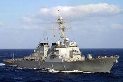 USS Arleigh Burke: Photo credit USN