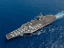 USS Carl Vinson: Photo credit USN