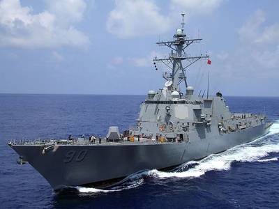 USS Chafee: Photo credit USN