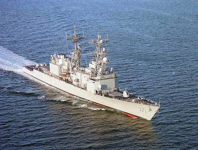 USS David R. Ray (U.S. Navy photo by Kurt Draper)